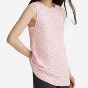 Lou & Grey Pink Knit Sweater Tunic M